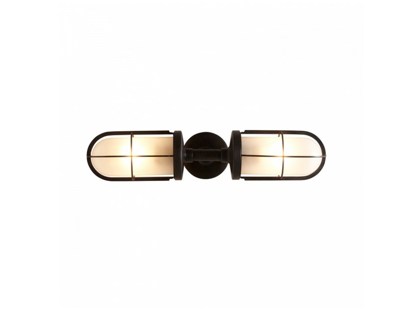 Glass wall lamp 7208 | Frosted glass wall lamp - Original BTC