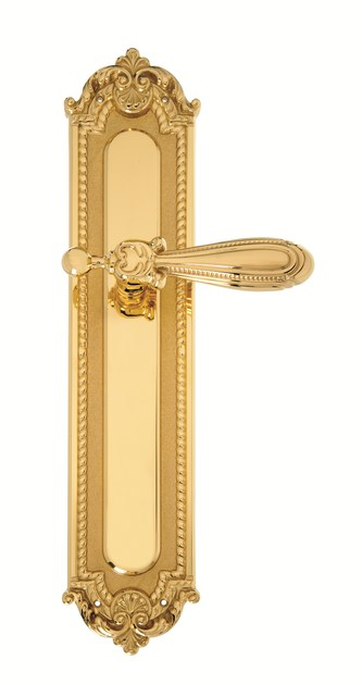 Classic style brass door handle 722 - CARLOTTA | Brass door handle - Enrico Cassina