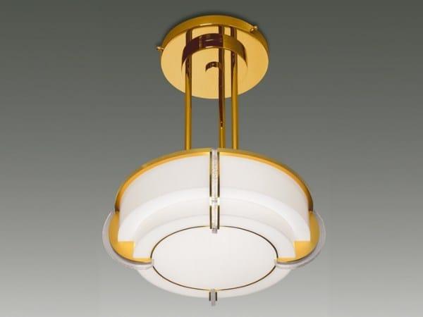 Direct light glass pendant lamp 727 S | Pendant lamp by Jean Perzel