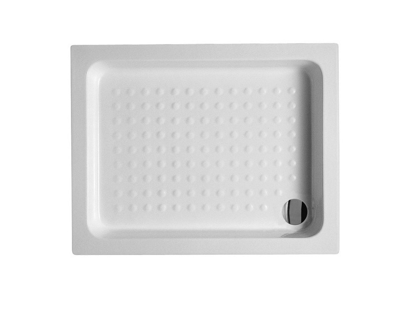 Built-in rectangular ceramic shower tray 72X90 | Shower tray - Alice Ceramica