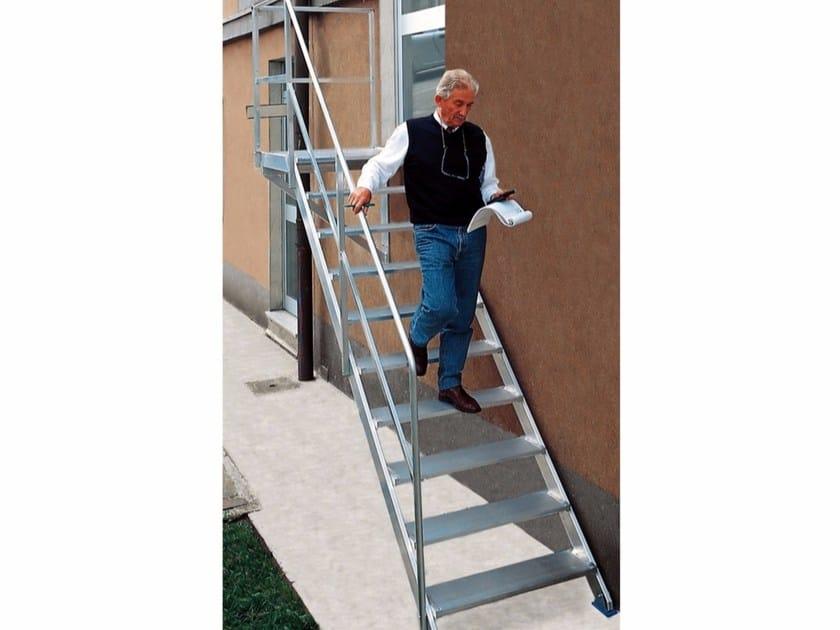 Fixed staircase 7346 - 7348 - Frigerio Carpenterie