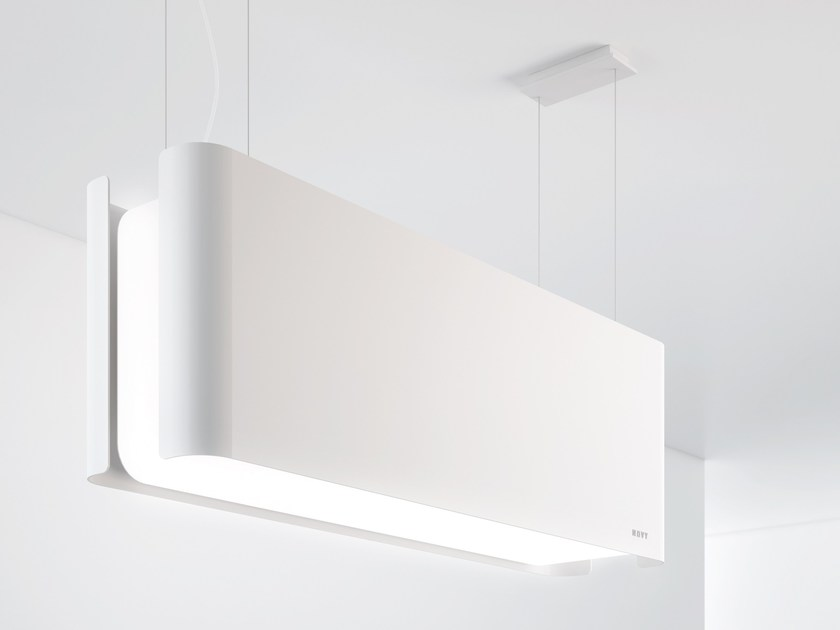 Island hood with integrated lighting 7550 MOOD - NOVY
