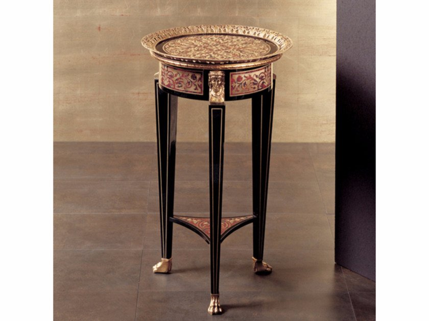 Round high side table 75B | Coffee table by Rozzoni