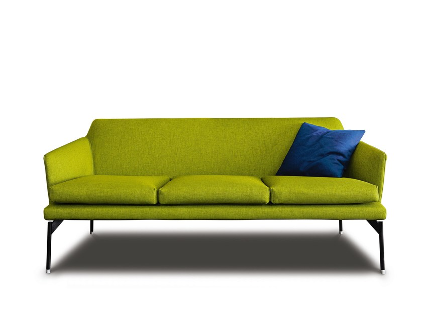 Fabric sofa with removable cover 770 LEVEL | Sofa by Vibieffe