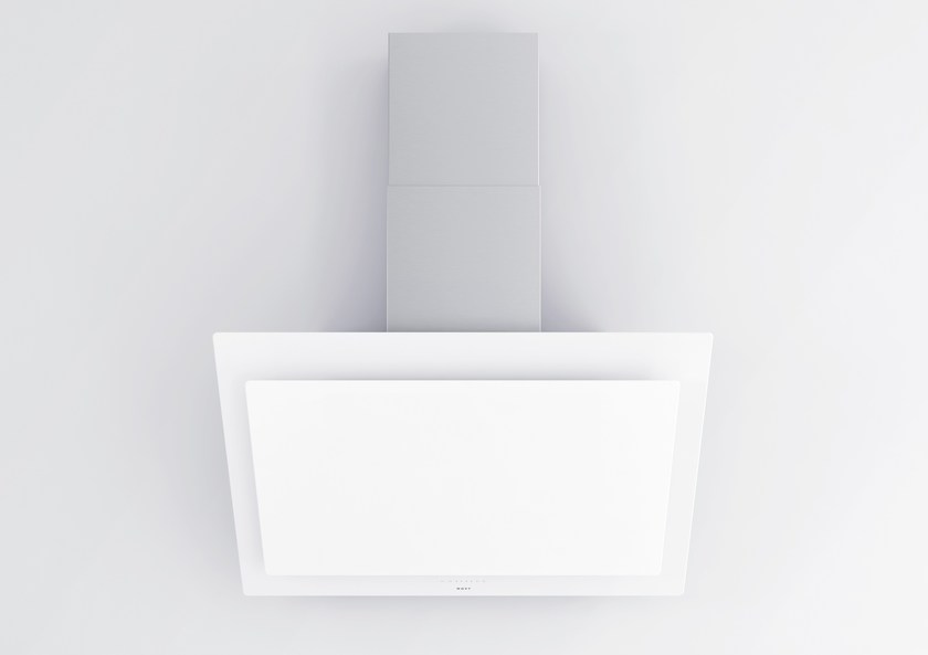 Contemporary style wall-mounted glass cooker hood 7831 Vision - NOVY