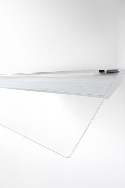 Cappa in vetro in stile moderno ad incasso 787 Fusion plus - NOVY