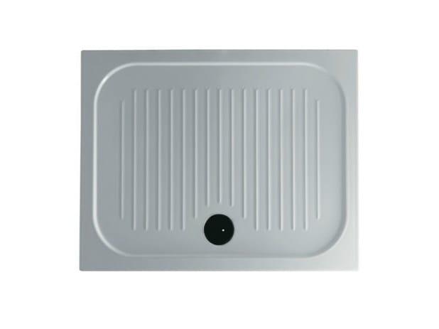 Piatto doccia antiscivolo rettangolare h6 flat 80 x for Piatto doccia antiscivolo