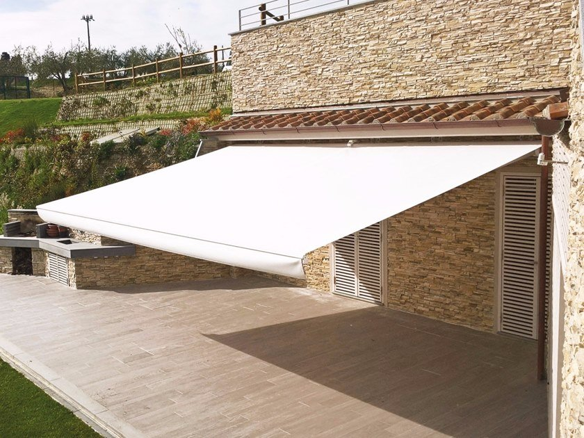 Retractable awning without headbox 8000 JUMBO BB by Frigerio Tende da Sole