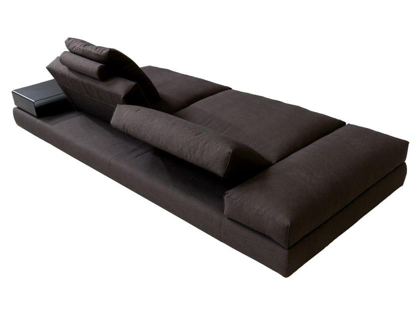 Recliner fabric sofa 835 EVOSUITE | Recliner sofa - Vibieffe