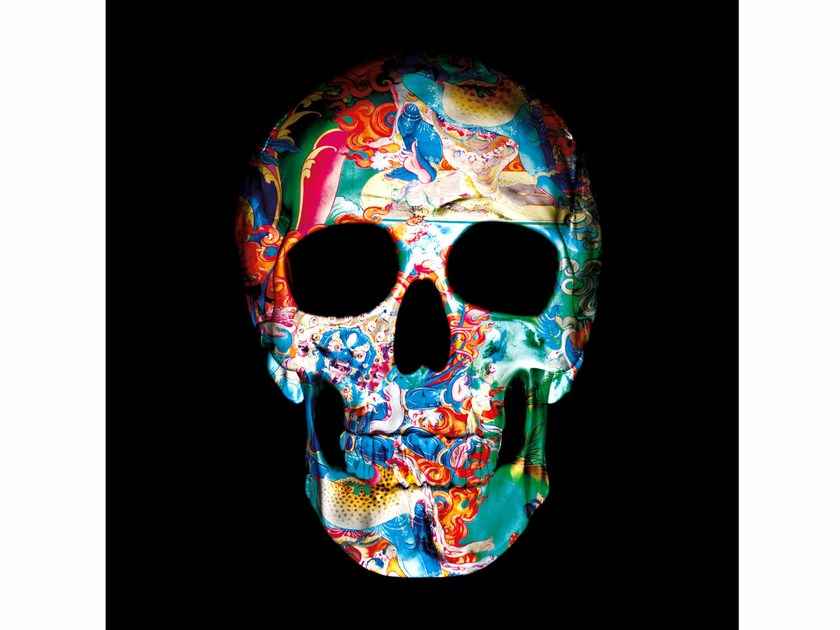 Photographic print 9 DIMENSIONS OF THE SKULL II - FINE ART by 99 Limited Editions