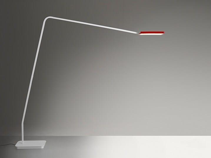 LED adjustable floor lamp 90° HOME - Artemide Italia