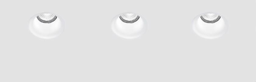 Faretto a LED in gesso da incasso 9095 - NOBILE ITALIA
