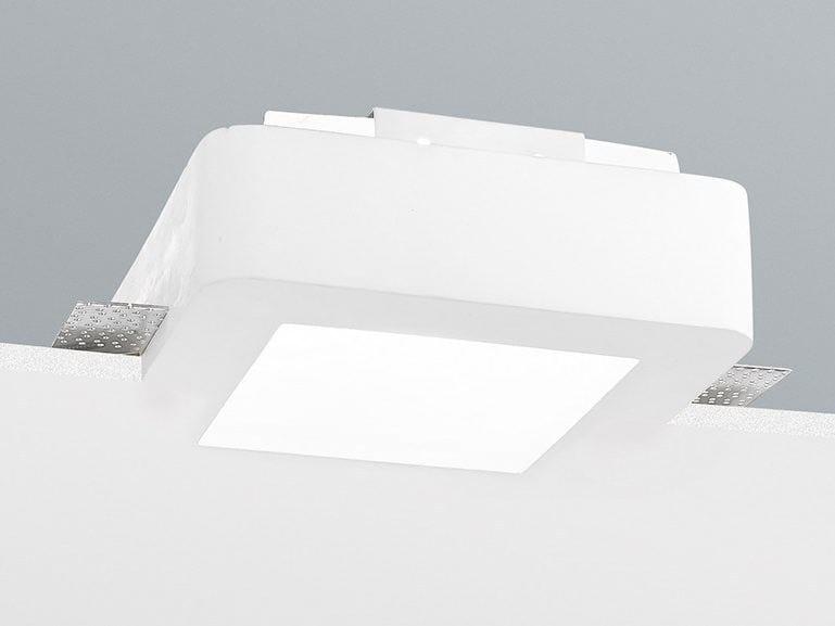 Faretto a LED quadrato da incasso 9106 by NOBILE ITALIA