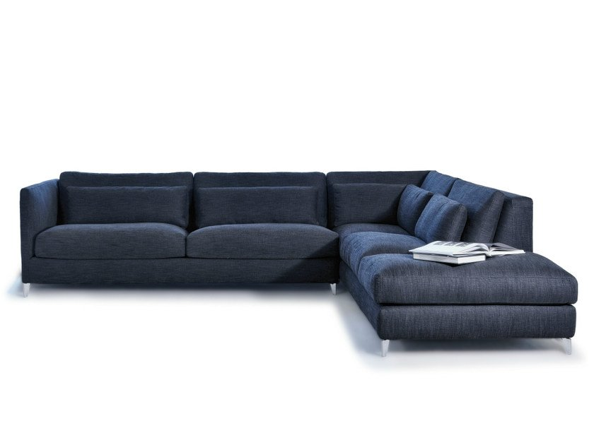 Sectional fabric sofa 930 ZONE SLIM XL   Sectional sofa - Vibieffe