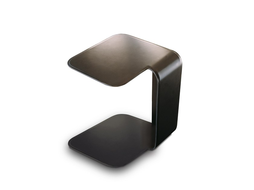 Leather side table 9500 - 28 by Vibieffe