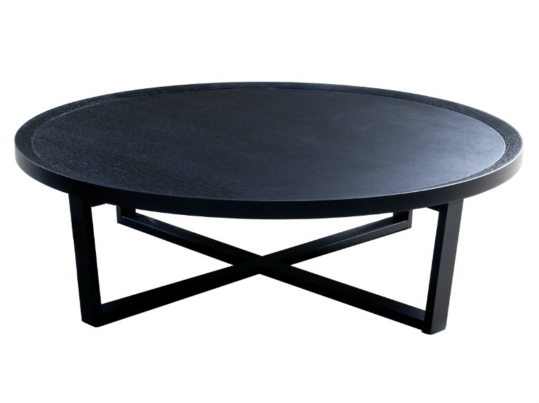 Round wooden coffee table 9500 - 36 | Wooden coffee table - Vibieffe