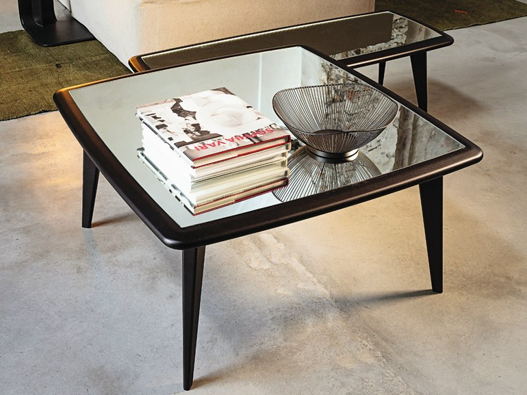 Square marble coffee table 9500 - XMAX | Square coffee table - Vibieffe