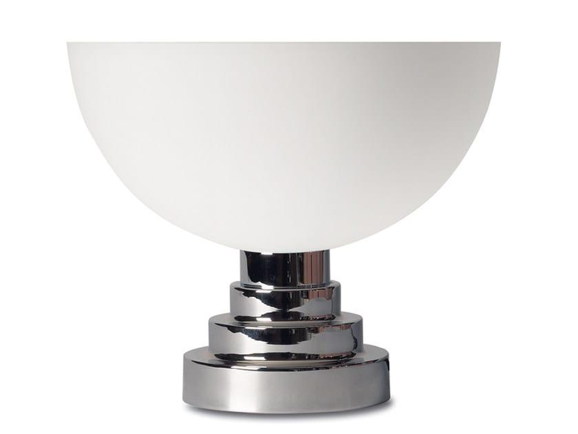 Lampada da tavolo a luce diretta e indiretta in vetro 998 | Lampada da tavolo - Jean Perzel