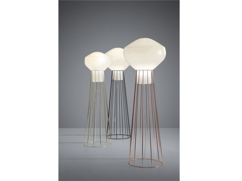Blown glass floor lamp AÉROSTAT | Floor lamp - Fabbian
