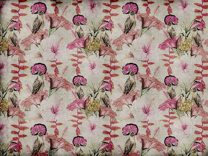 Fiberglass textile wallpaper A-18 by MOMENTI