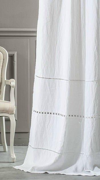 Linen curtain A'JOUR | Curtain - LA FABBRICA DEL LINO by Bergianti & Pagliani