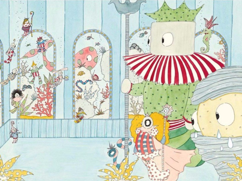 Kids wallpaper A PALAZZO REALE by Wallpepper