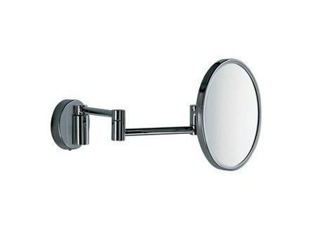 Round wall-mounted shaving mirror A0458C-A | Shaving mirror - INDA®