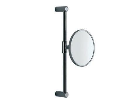 Round wall-mounted shaving mirror A0458E | Shaving mirror - INDA®