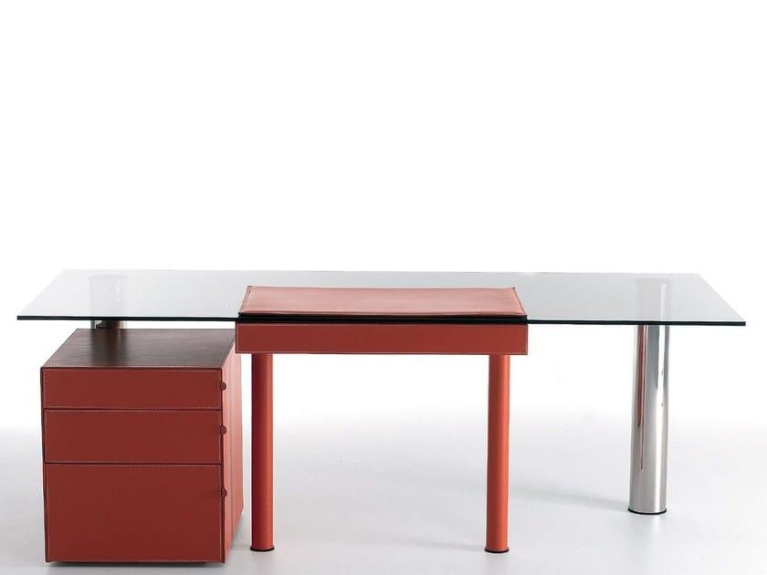 Rectangular crystal executive desk ABA | Executive desk - ITALY DREAM DESIGN - Kallisté