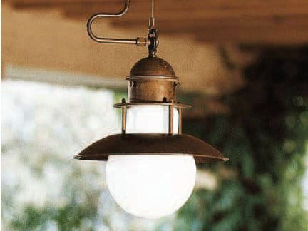 Metal pendant lamp ABBAZIA | Pendant lamp by Aldo Bernardi