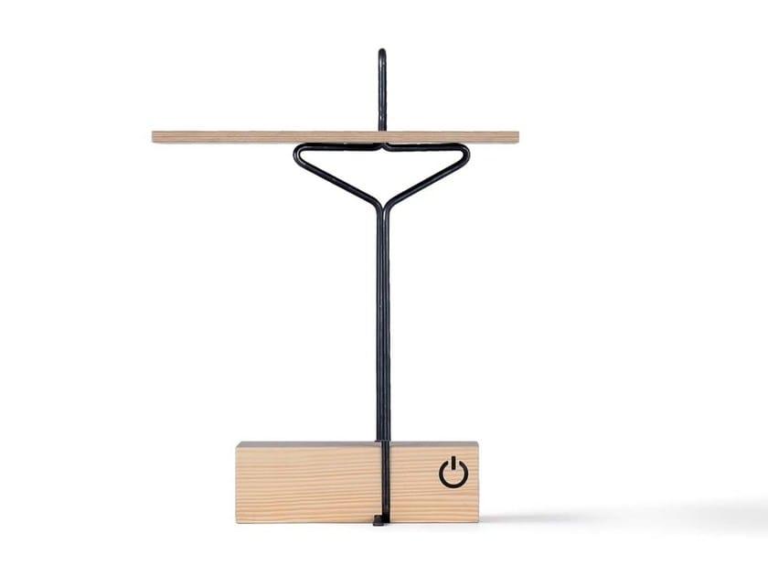 Rectangular side table ABGEMAHNT by Nils Holger Moormann