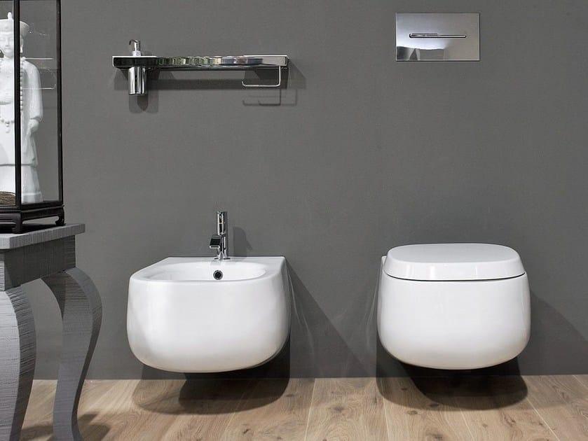 Wc bidet en c ramique abol by antonio lupi design for Salle de bain komodo