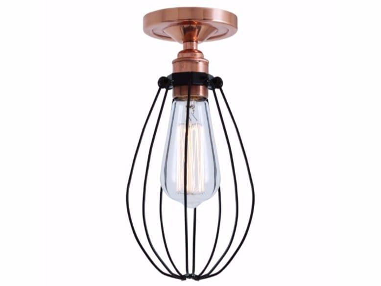 Handmade ceiling lamp ABUJA FLUSH CEILING LIGHT by Mullan Lighting