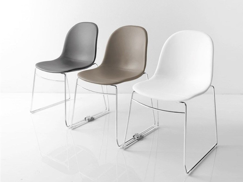 Stackable training chair ACADEMY | Training chair by Calligaris