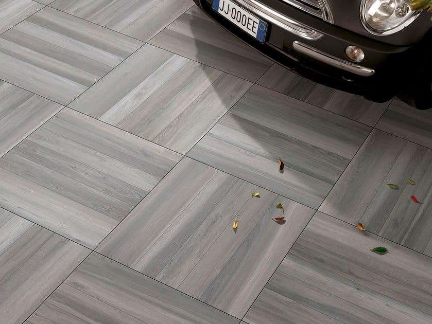 Porcelain stoneware outdoor floor tiles with wood effect ACANTO | Outdoor floor tiles - Serenissima