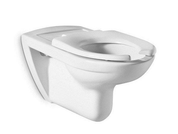 Wall-hung ceramic toilet for disabled ACCESS | Toilet for disabled - ROCA SANITARIO