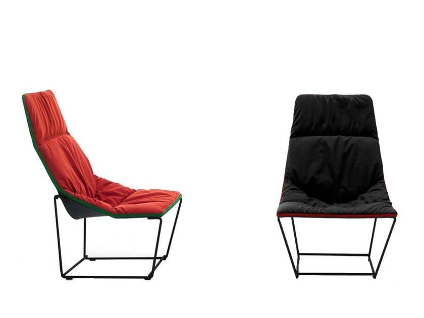 Design steel armchair ACE | Armchair - Viccarbe