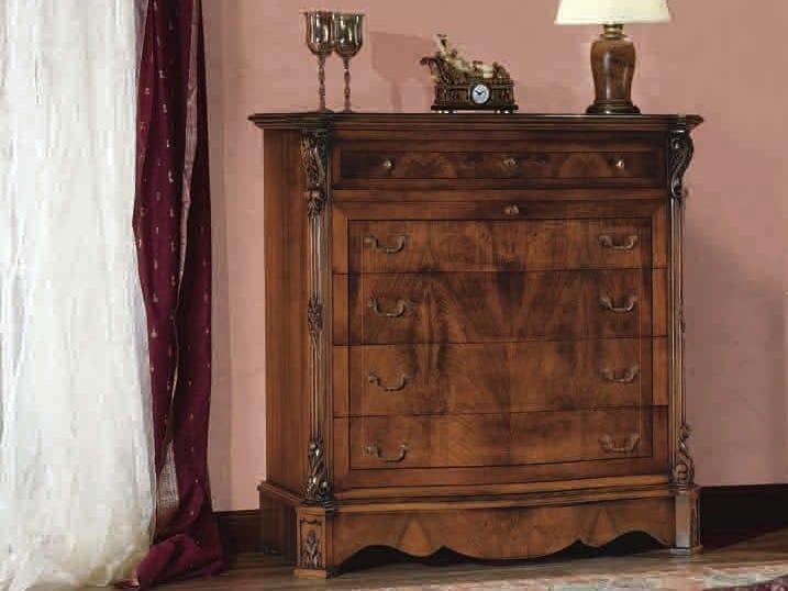 Solid wood dresser ACHILLE | Dresser by Arvestyle