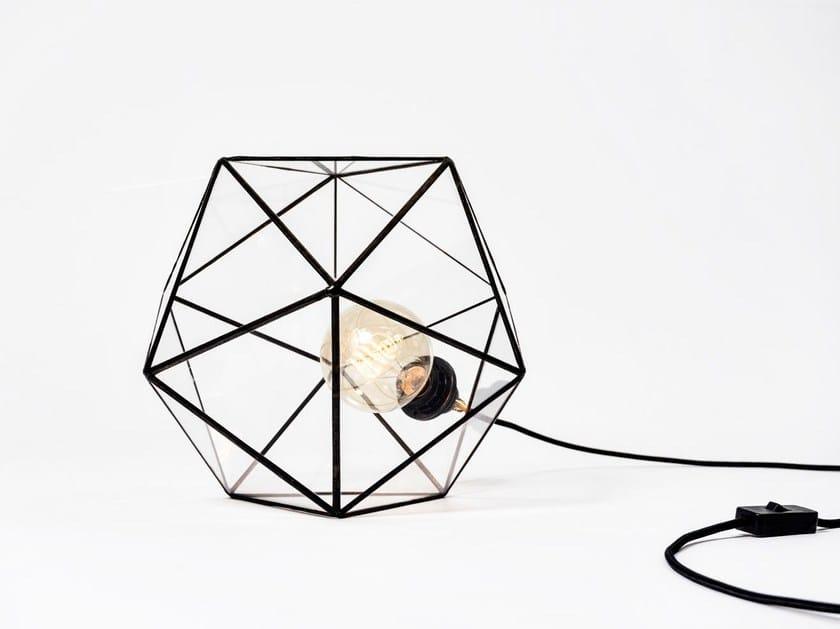 Direct light glass table lamp ACQUA | Glass table lamp - bigdesign