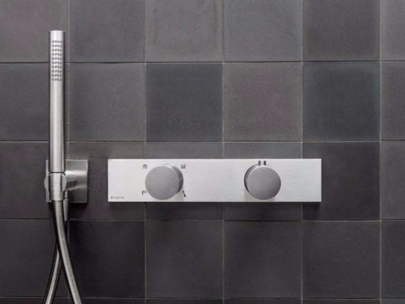 Thermostatic shower mixer with diverter ACQUADOLCE | Thermostatic shower mixer by Fantini Rubinetti