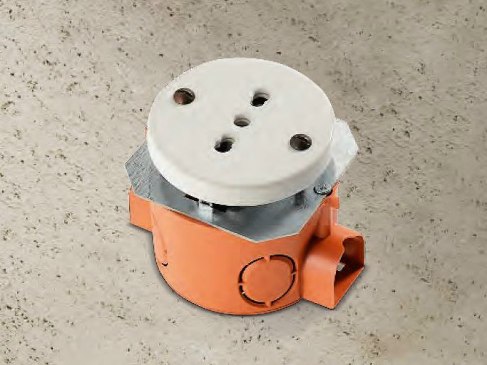 Single ceramic electrical outlet ACQUARIO | Electrical outlet by Aldo Bernardi