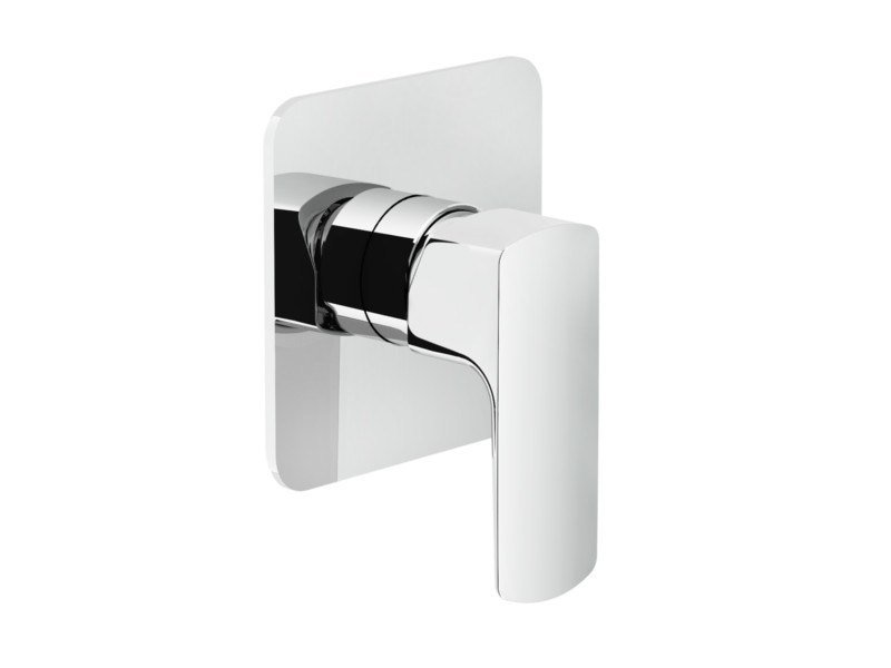 Single handle shower mixer with plate ACQUAVIVA | Shower mixer by Nobili Rubinetterie