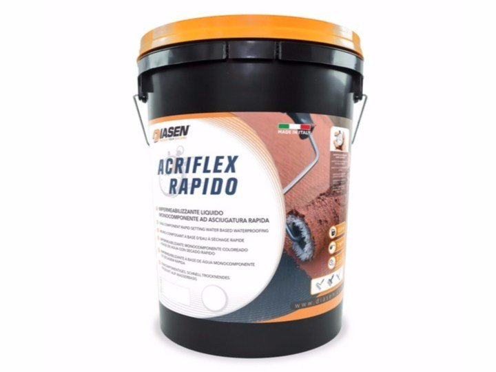 Liquid waterproofing membrane ACRIFLEX RAPIDO - DIASEN