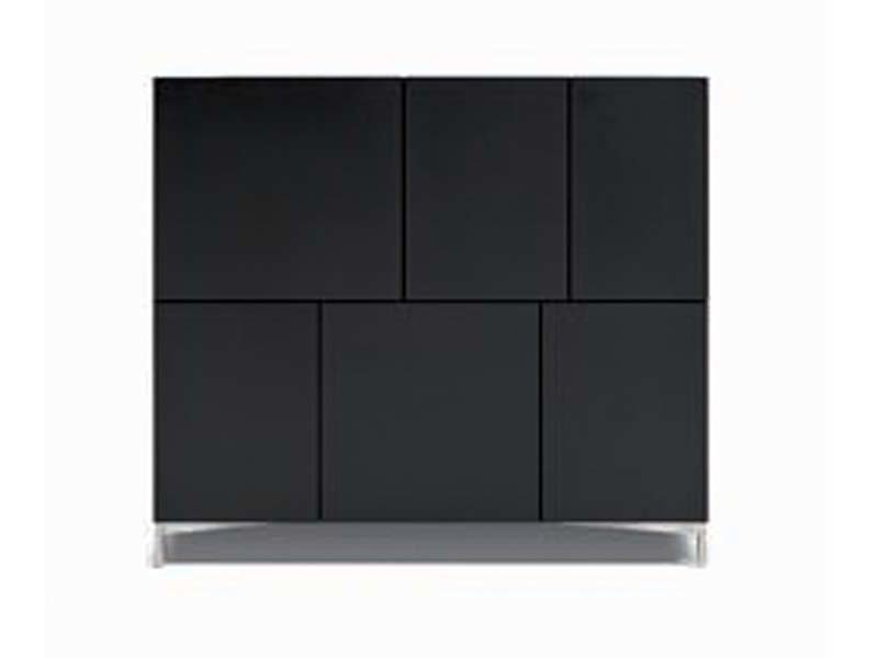 Lacquered highboard AD BOX | Highboard - Potocco
