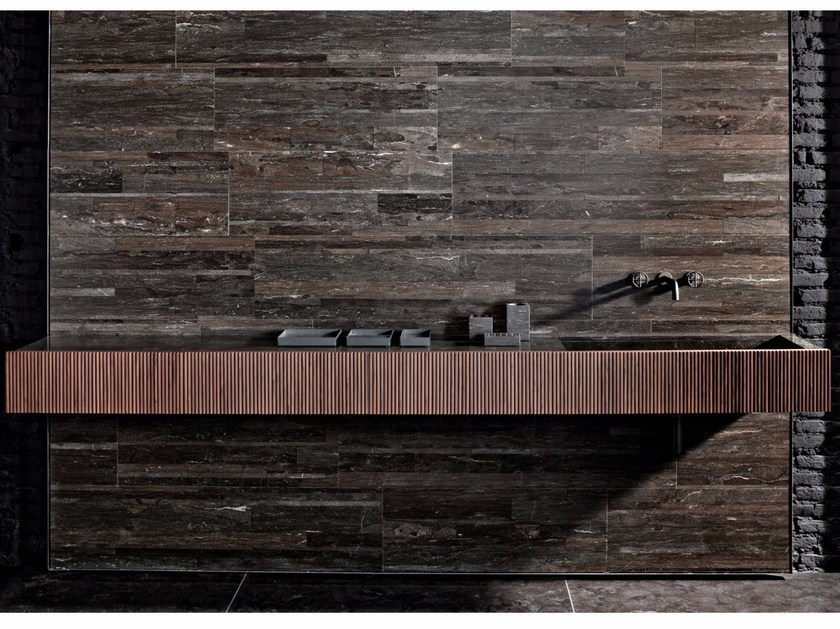 Rectangular wall-mounted washbasin ADDA   Rectangular washbasin by SALVATORI