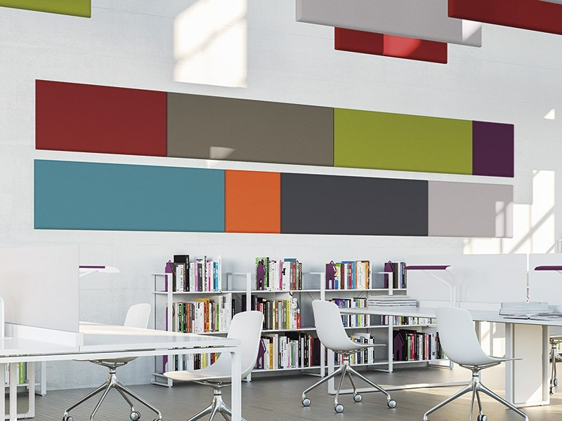 Acoustic composition with ADDENDA panels