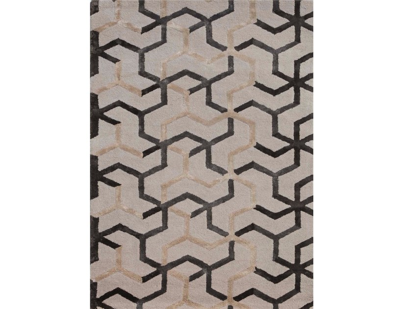 Rug with geometric shapes ADDY - Jaipur Rugs