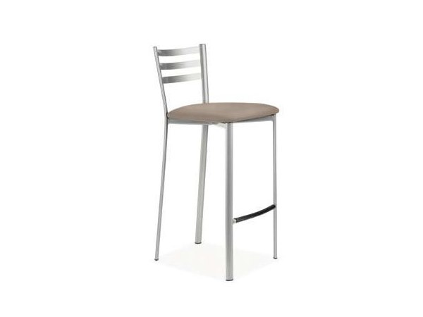 Counter stool with footrest ADER | Counter stool - CREO Kitchens by Lube