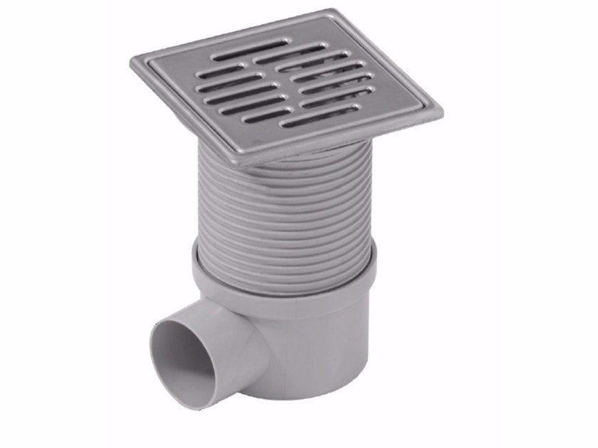 Manhole cover and grille for plumbing and drainage system ADJUSTABLE TELESCOPICH GULLY by Dakota