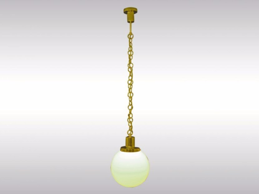 Pendant lamp ADOLF LOOS HAUS MUELLER - Woka Lamps Vienna